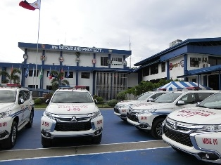 The Ambassador Also Noted That The National Flags Of Japan And The Philippines Depicted On Both Sides Of The Patrol Vehicles Represent Not Only The High