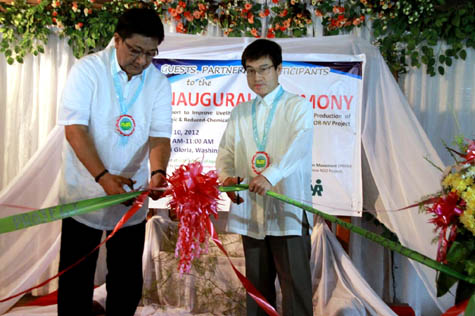 Japan Assists in the Improvement of Livelihood of Poor Farmers in Nueva Vizcaya